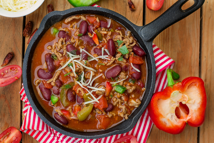 Veggie Loaded Chilli