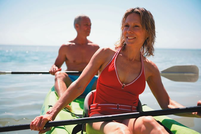 Kayak Couple
