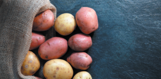 Treat potatoes as a starch, not a vegetable, on your plate, and don't overdo the fries, tots, chips, and toppings.