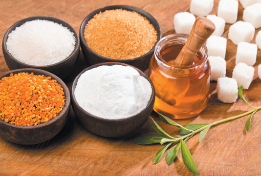 All caloric sweeteners contribute to weight gain, diabetes, and heart disease.
