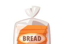 "Look for the word ""whole"" at or near the top of the ingredient lists on packaged breads."