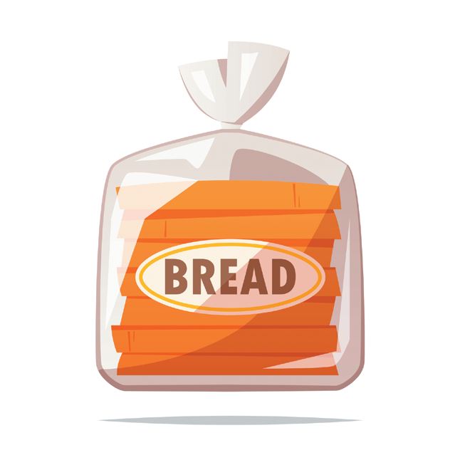 """Look for the word """"whole"""" at or near the top of the ingredient lists on packaged breads."""