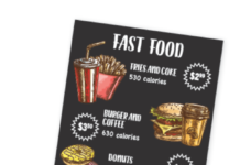 All chain restaurants must put calorie content on their menus. Eat in, take-out, drive-through, or delivery—you can use them to make informed choices.