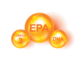 The omega-3 fats EPA and DHA may help fight inflammation, which could slow progression of cardiovascular disease.