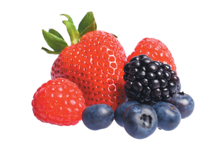 Brightly colored, juicy, and sweet, berries are a healthy treat.