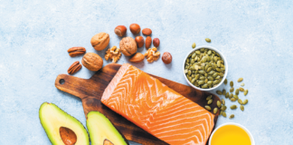 Replacing some calories from carbohydrates (particularly refined carbs) with calories from foods rich in unsaturated fats is a health-promoting choice.