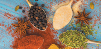 Herbs and spices are not quite the same, but serve the same purpose—flavoring delicious food!
