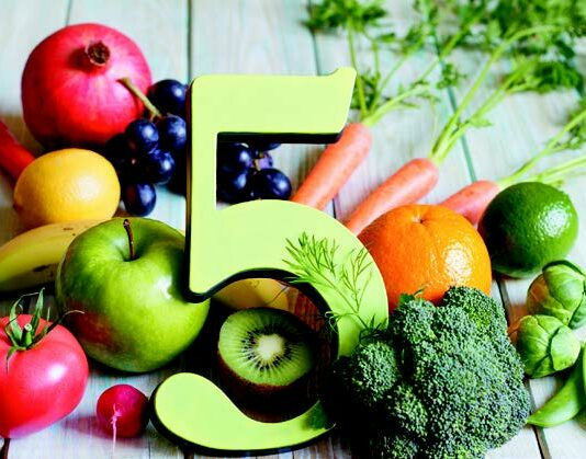 Consuming at least five servings of fruits and vegetables a day may help you live longer.