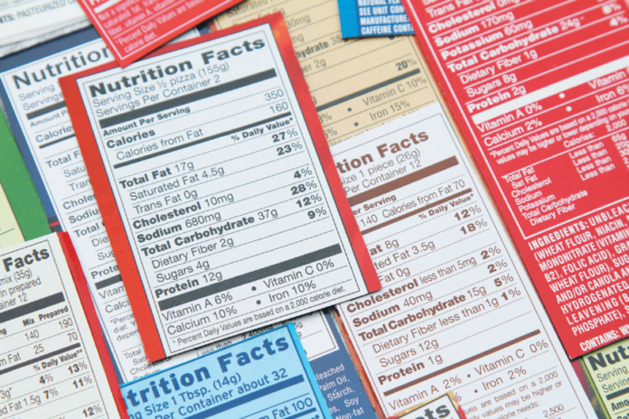 """""""Net carbs"""" do not include fiber, since fiber is not digested. Food labels are not required to carry this industry term."""
